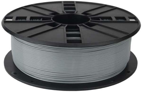 Gembird tlačová struna (filament), PETG, 1,75mm, sivá