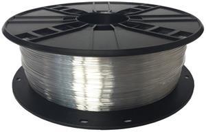 Gembird tlačová struna (filament), PETG, 1,75mm, transparentná