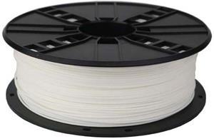 Gembird tlačová struna (filament), PLA, 1,75mm, biela