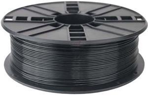 Gembird tlačová struna (filament), PLA, 1,75mm, čierna