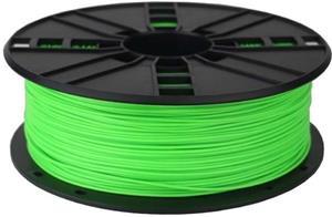 Gembird tlačová struna (filament), PLA, 1,75mm, fluorescent zelená