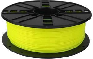 Gembird tlačová struna (filament), PLA, 1,75mm, fluorescent žltá