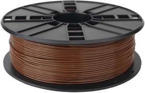 Gembird tlačová struna (filament), PLA, 1,75mm, hnedá