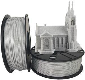 Gembird tlačová struna (filament), PLA, 1,75mm, mramor