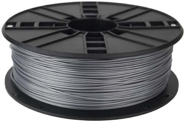 Gembird tlačová struna (filament), PLA, 1,75mm, strieborná
