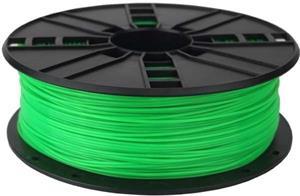 Gembird tlačová struna (filament), PLA, 1,75mm, zelená
