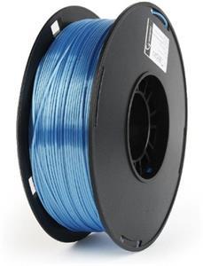Gembird tlačová struna (filament), PLA-plus, 1,75mm, modrá