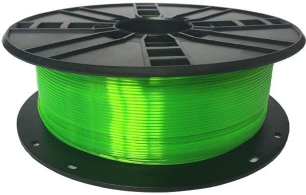 Gembird tlačová struna (filament), PLA-plus, 1,75mm, zelená