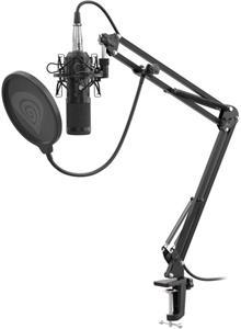 Genesis Radium 300 XLR, Streamovací mikrofon, ohybné rameno, pop-filter