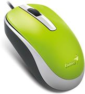 Genius DX-120, myš, zelená