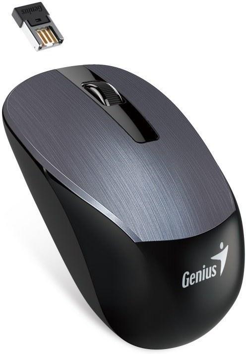 Genius NX-7015, bezdrôtová myš, sivá