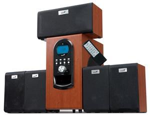 Genius SW-HF 5.1 6000 Ver. II/ 5.1/ 200W/ Drevené/ Diaľkový ovládač