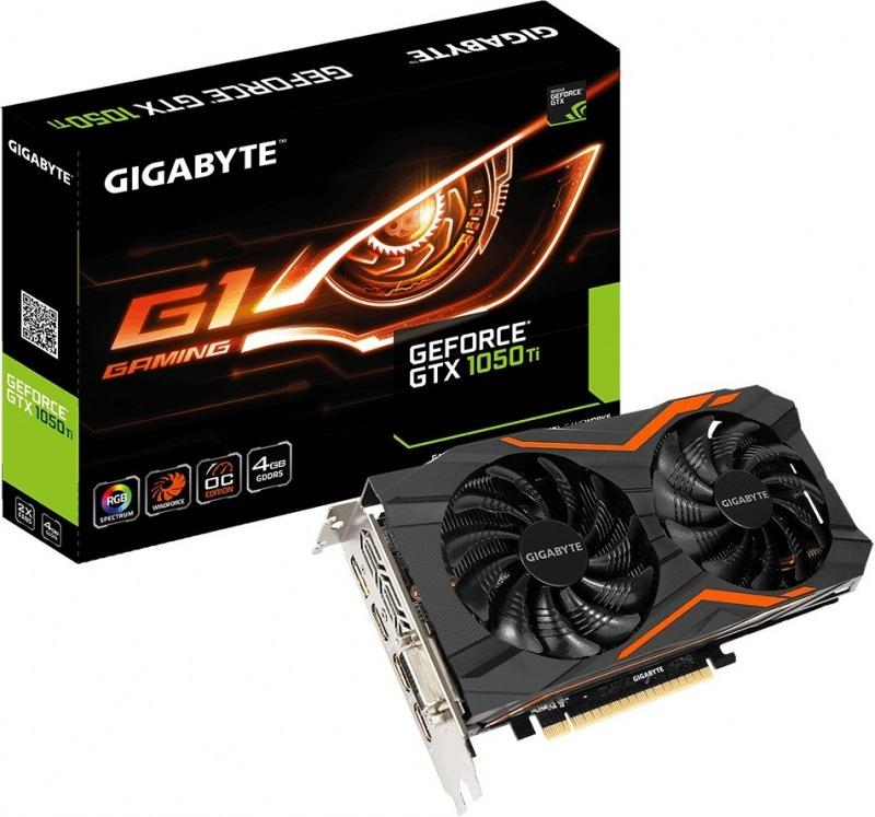 GIGABYTE 1050 Ti G1 Gaming 4G