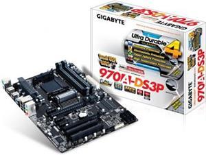 Gigabyte 970A-DS3P - rozbalené