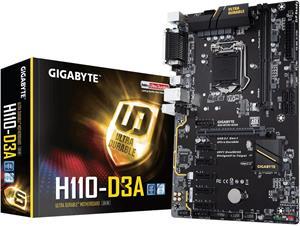 Gigabyte H110-D3A - mining