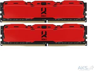 Goodram IRDM DIMM DDR4 16GB 3000MHz CL16 SR (Kit 2x8GB) červená