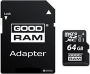 Goodram microSDXC 64GB + adaptér