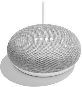 Google Home Mini Chalk, hlasový asistent, sivý