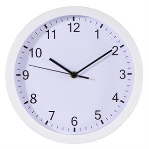 Hama 176961 Pure, nástenné hodiny, 25 cm, tichý chod, biele