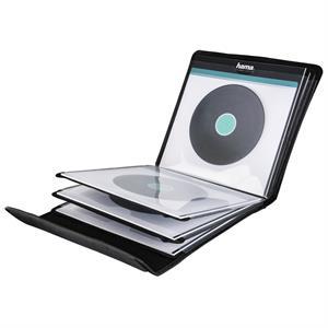 Hama 181440, puzdro na 12 gramofónových platní (vinyl/LP), čierne