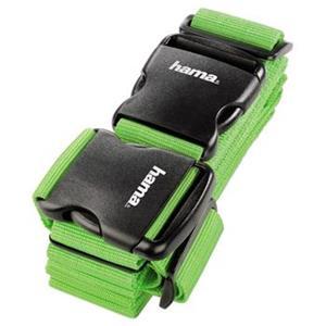 Hama 2-smerný popruh na batožinu, zelený, 5x200/5x230 cm