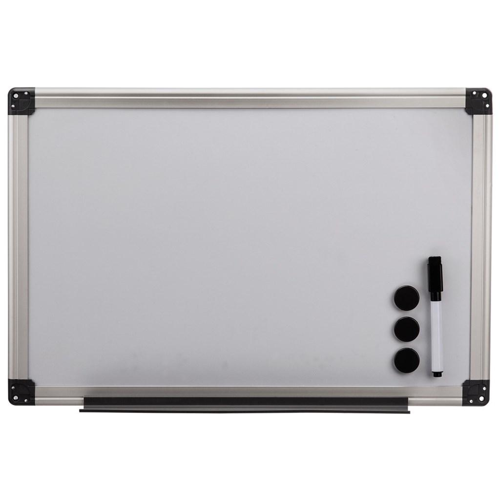Hama biela magnetická tabuľa, 40x60 cm, hliníková, strieborná