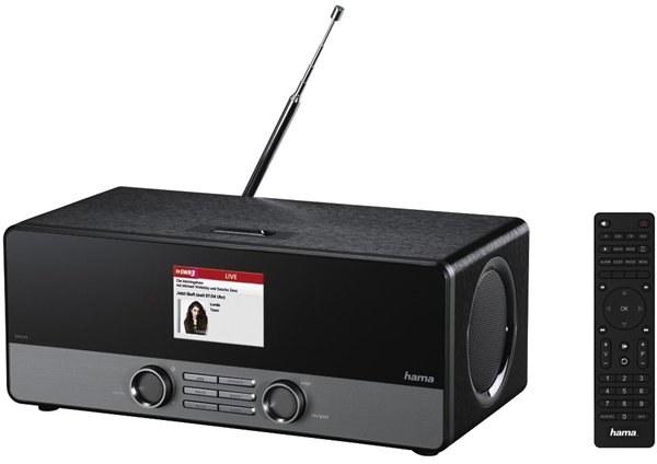 Hama DIR3100 DAB+/internetové rádio/FM