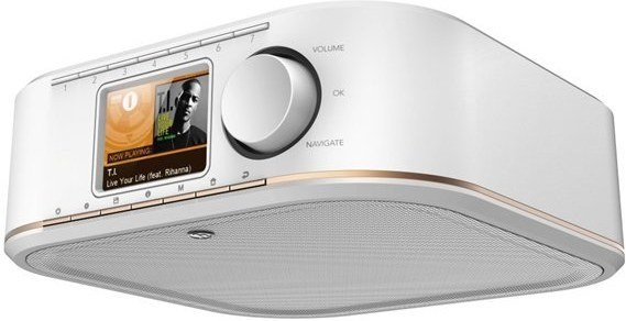 Hama IR350M, internetové rádio, biele