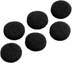 Hama náhradné polstre pre slúchadlá, 19 mm, čierne