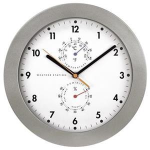 Hama PG-300, nástenné hodiny s teplomerom/vlhkomerom, riadené rádiovým signálom