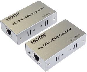 HDMI extender cez RJ45 až na 60.0m cez kabel Cat5e/Cat6