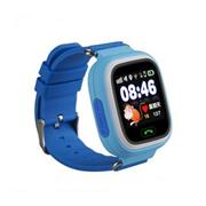 HELMER GPS lokátor LK 703 umístěný v chytrých dětských hodinkách s dotykovým displejem / modré