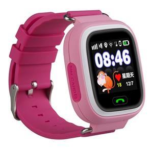 HELMER LK 703, GPS lokátor umiestnený v smart hodinkách, ružové
