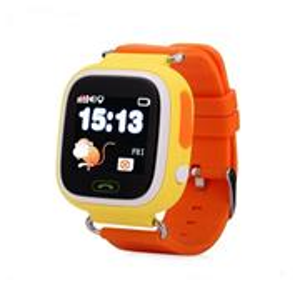 HELMER LK 703, GPS lokátor, umiestnený v smart hodinkách, žlté