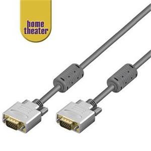 Home Theater VGA-VGA kábel 15M/15M, 15.0m, prepojovací