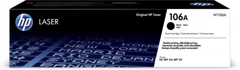 HP 106A, čierny, W1106A, 1000 strán