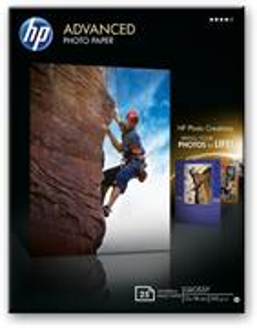 HP 13x18cm Advanced, 250g/m2, lesklý, 25ks
