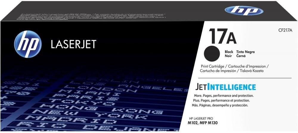 HP 17A, čierny, CF217A, 1600 strán
