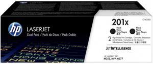 HP 201X, čierny, CF400XD, 2x 2800 strán