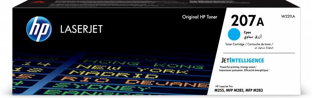 HP 207X, cyan, W2211X, 2450 strán