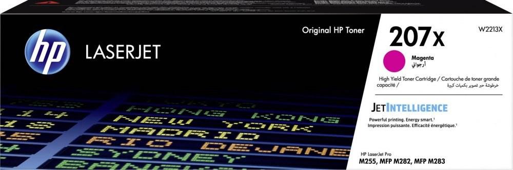 HP 207X, magenta, W2213X, 2450 strán
