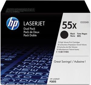 HP 255XD, 2x čierna, CE255XD, 2x 12 500 strán