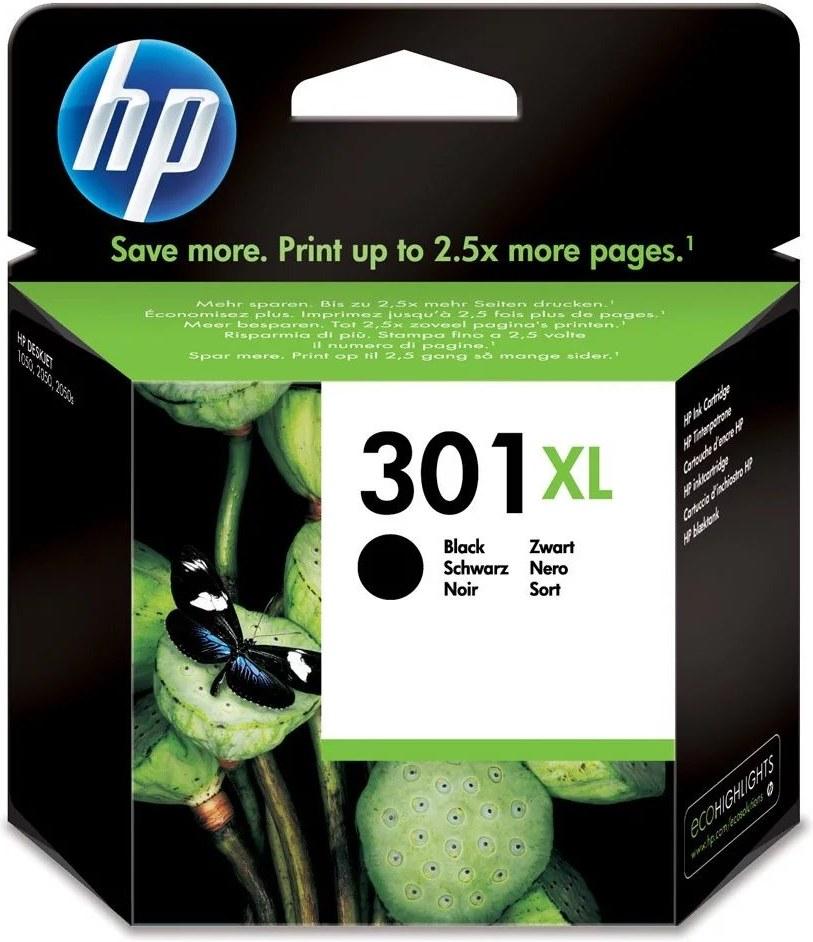 HP 301XL, čierna, 480 strán