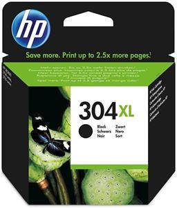 HP 304XL, čierna, 300 strán