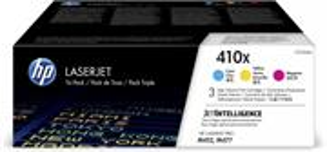 HP 410X, farebné CMY, 3x 5 000 strán