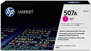 HP 507A, magenta, CE403A, 6000 strán