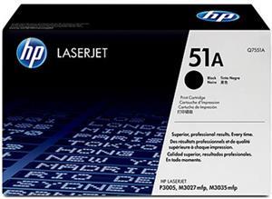 HP 51A, Q7551A. čierny, 6 500 strán