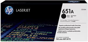 HP 651A, čierny, CE340A, 13 500 strán