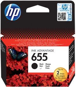 HP 655, čierny, 550 strán
