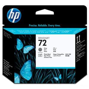HP 72, tlačová hlava, šedá / foto čierna, C9380A